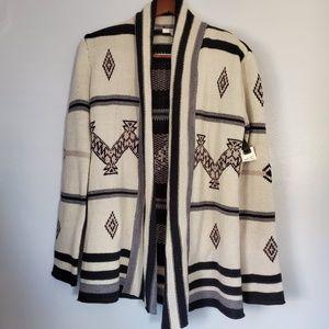 Bb Dakota Aztec tribal print cardigan